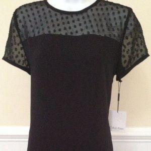 Calvin Klein Women's Black Dress Solid Cocktail 6